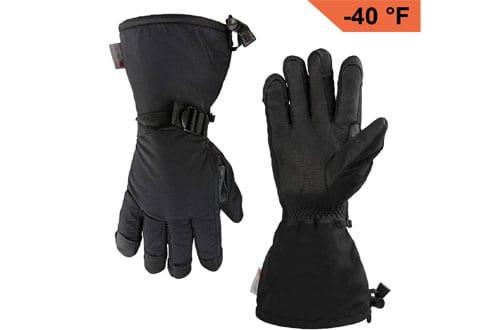 OZERO Extreme Cold ThinsulateWork Glove for Ski