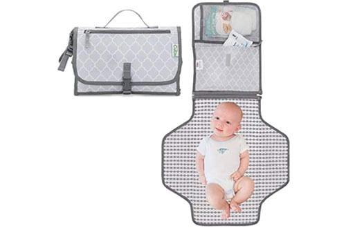 Comfy Cub Portable Travel Diaper Changing Mat for Infants & Newborns
