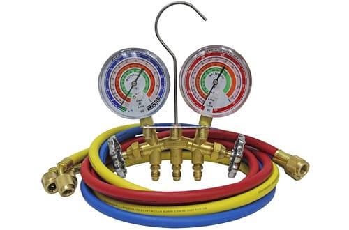 Mastercool 59161 BrassManifold Gauge SetR410A, R22, R404A