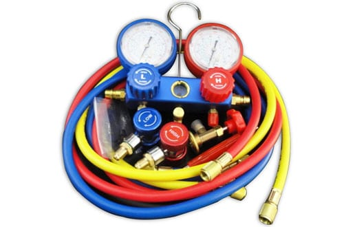YX MARINE AC Refrigeration - A/C Diagnostic Manifold Gauge for R12 R22 R134a 410a R404z