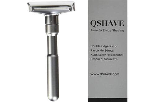 QSHAVE Adjustable Double Edge Classic Safety Razor