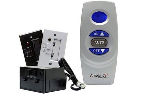 Ambient Technologies On/Off Thermostat Fireplace Remote Control