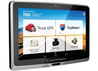 Rand McNally TND 70 GPS for Truckers