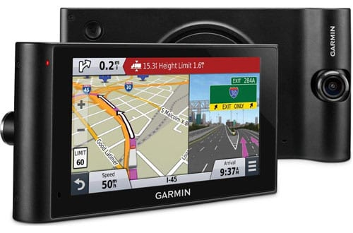 Garmin dezlCam LMTHD 6-Inch Truck Navigator with Dash Cam & Lifetime Map