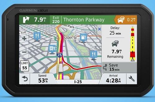 Garmin dēzl 780 LMT-S GPS Tracker for Truck