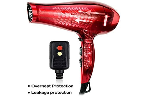 Ionic Hair Dryer for Curly Hair
