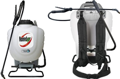 Roundup No-Leak Pump Backpack Sprayer for Herbicides, Weed Killers & Insecticides