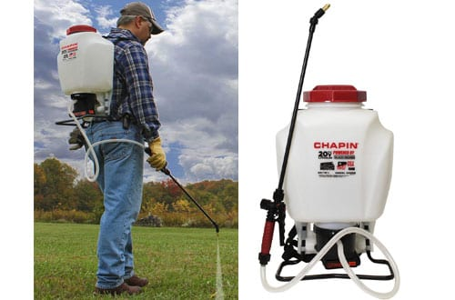 Chapin International Black and Decker Backpack Sprayer – 63985