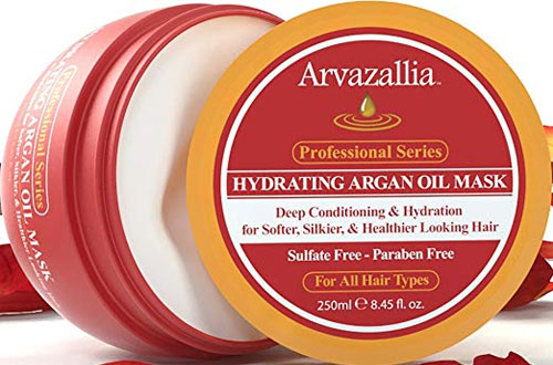 Arvazallia Hydrating Argan Oil Hair Mask for Dry or Damaged Hair