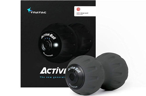 TRATAC ActiveBall Vibration Ball - Back Pain & Recovery Massage Ball