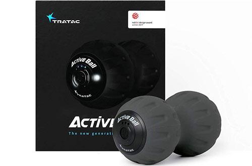 TRATAC ActiveBallVibration Ball - Back Pain & Recovery Massage Ball