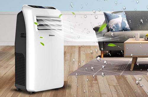 Shinco SPF2-10C 10,000 BTU Quiet Portable Air Conditioner