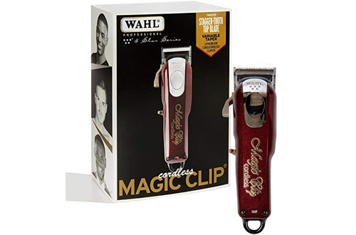 Wahl Professional Cordless Hair Clipper for Barbers & Stylists