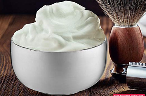 Perfecto Durable Metal Mug for Shaving Soap and Cream
