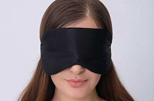 Alaska Bear Silk Eye Mask for Sleeping