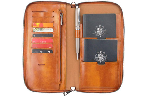 Gallaway Leather Travel Wallets