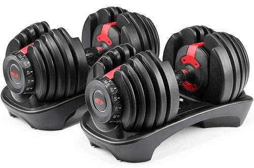 Bowflex SelectTech 552 Pair Adjustable Dumbbells