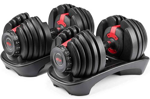 Bowflex SelectTech 552 Pair Adjustable Dumbbells
