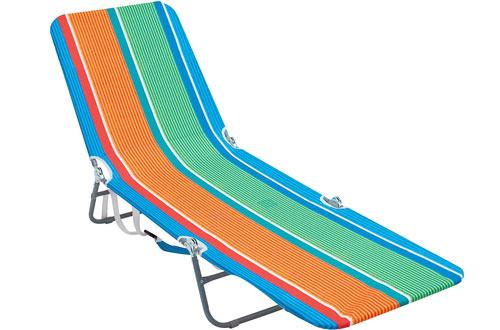 Rio Beach Backpack Flat Beach Lounge Chairs