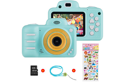Themoemoe Kids Digital Camerafor 3-10-Year-Old Girl