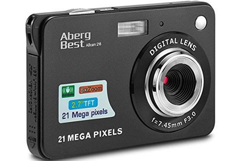 AbergBest HD Video Digital Camerafor Adult, Seniors & Kids