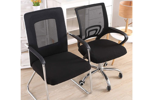 SmiryStretch Jacquard Office Chair Seat Covers