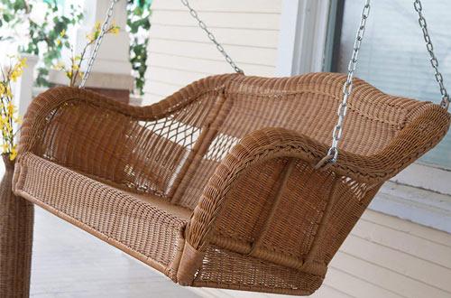 Wicker Porch Swings