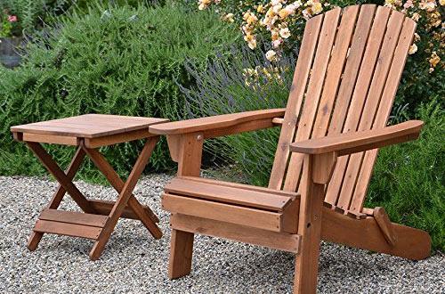 Plant Theatre Folding Adirondack Hardwood Chair