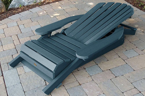 Highwood AD-CHL1-NBE Wooden Adirondack Chair for Adults