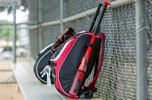 Athletico Baseball Bat Bag & Backpack for Baseball for Youth and Adults