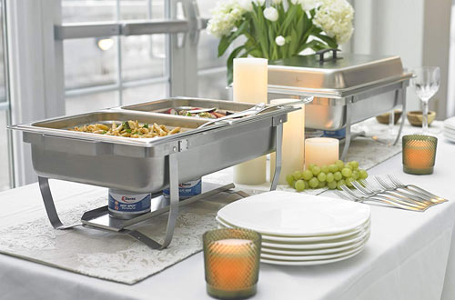 Sterno Products Foldable Frame Buffet Chafer Set