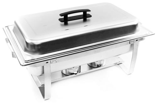 Alpha Living Chafing Dish & Stainless Steel Chafer Set
