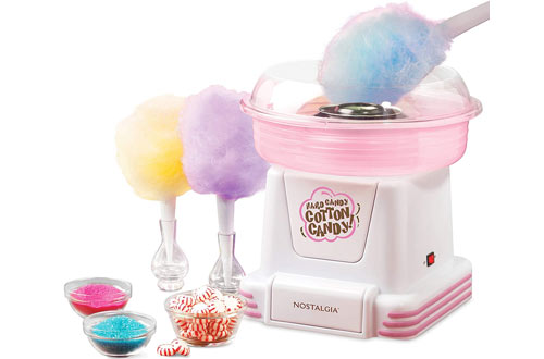 Nostalgia PCM805 Hard & Sugar-Free Cotton Candy Maker