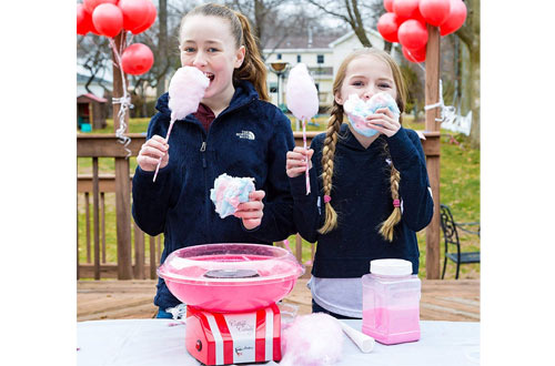 The Candery Homemade Cotton Candy Machines for Birthday Parties
