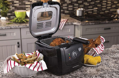Hamilton Beach Professional Electric Deep Fryers