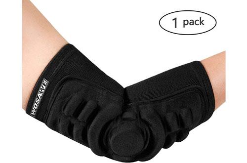 MoonLove Breathable Elbow Brace Padsfor Skateboarding Basketball Football