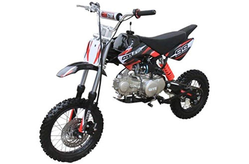 Coolster 125cc Manual Clutch Mid Size Dirt Bike - XR-125
