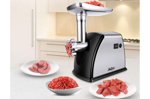 Betitay 1800W Max Stainless Steel Electric Meat Mincer