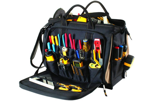 CLC Custom LeatherCraft 1539 Multi-Compartment Tool Bag