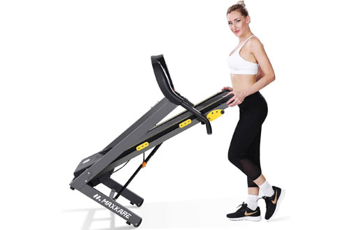 MaxKare Home Folding Treadmills with Incline Motorized Running Machine