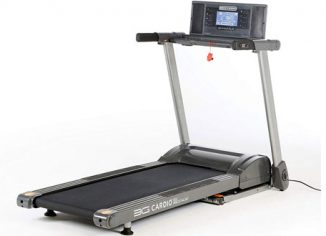 3G Cardio 80i Fold Flat Electric Treadmill