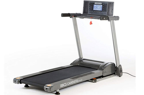 3G Cardio 80i Fold Flat Electric Treadmill