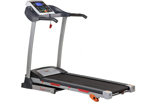 Sunny Health & Fitness Folding Treadmill Motorized Running Machine