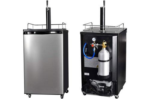 SMETA FreestandingStainless steelKegerator Draft Beer Dispenser