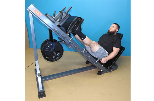 TDS 4-Way Hip Sled Leg Press - Full Lower Body Workout Unit