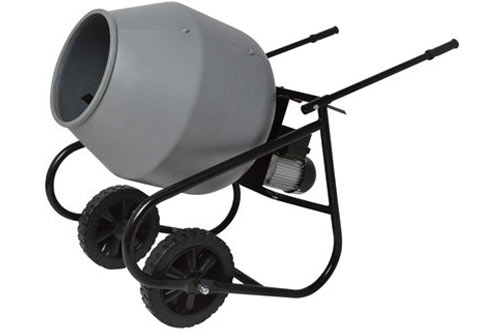 Klutch Portable Cement Mixers -2 Cubic Ft