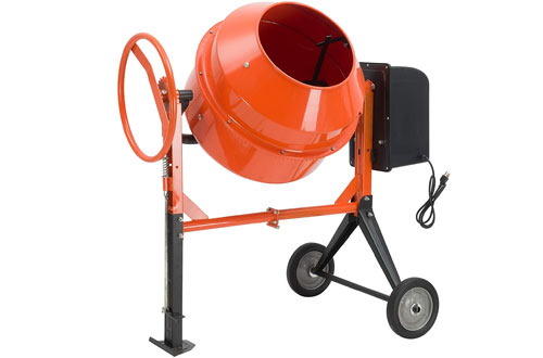 SUNCOO Electric Concrete Cement Mixer - Mortar Mixing Machine