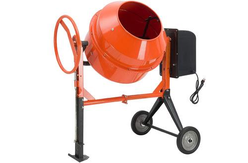 SUNCOO Electric Concrete Cement Mixer -Mortar Mixing Machine