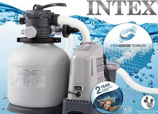Intex Krystal Clear Sand Filter Pump & Saltwater Pump for Above Ground Pool