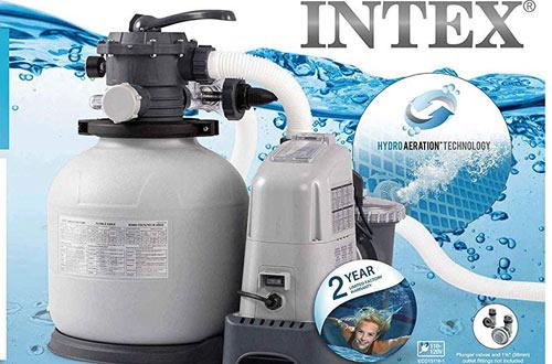 Intex Krystal Clear Sand Filter Pump & Saltwater Pump for Above Ground Pool